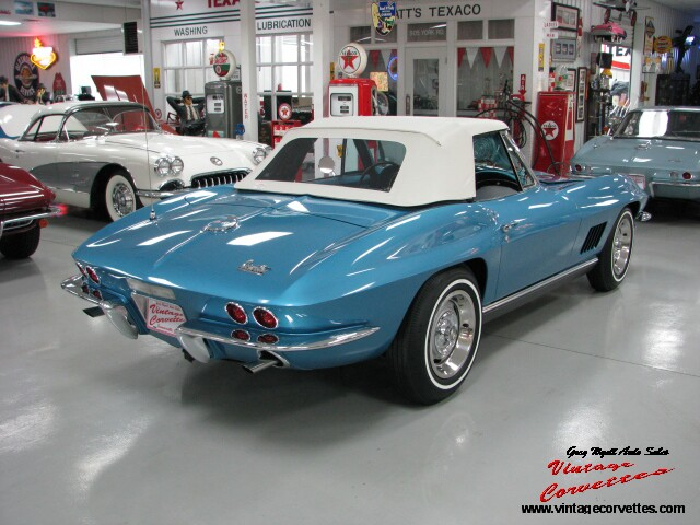 Gregs Auto Sales >> Greg Wyatt Auto Sales | 1967 CORVETTE CONVERTIBLE – MARINA ...