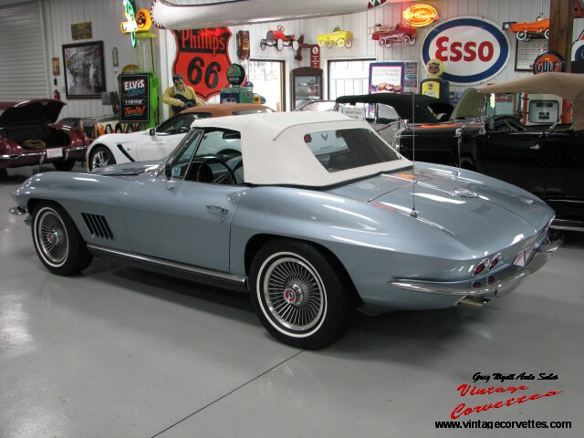 Gregs Auto Sales >> Greg Wyatt Auto Sales | 1967 CORVETTE ELKHART-BLUE/TEAL ...