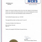NCRS Document 001